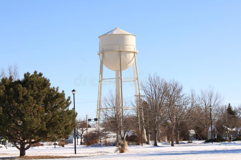 Watertower  In Scottsbluff Nebraska royalty free stock image