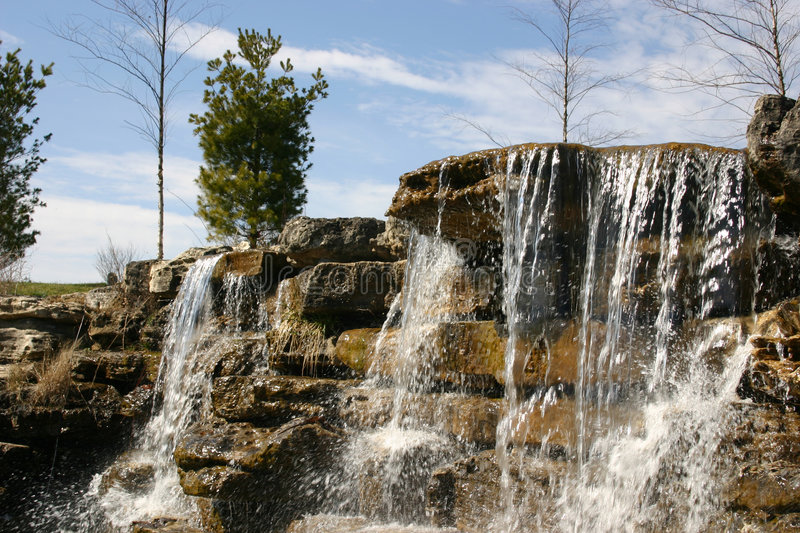 Waterval 2 Stock Foto