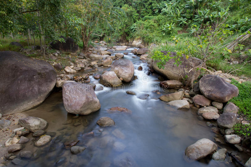 Waterval Achtergrondlandschappen stock fotografie