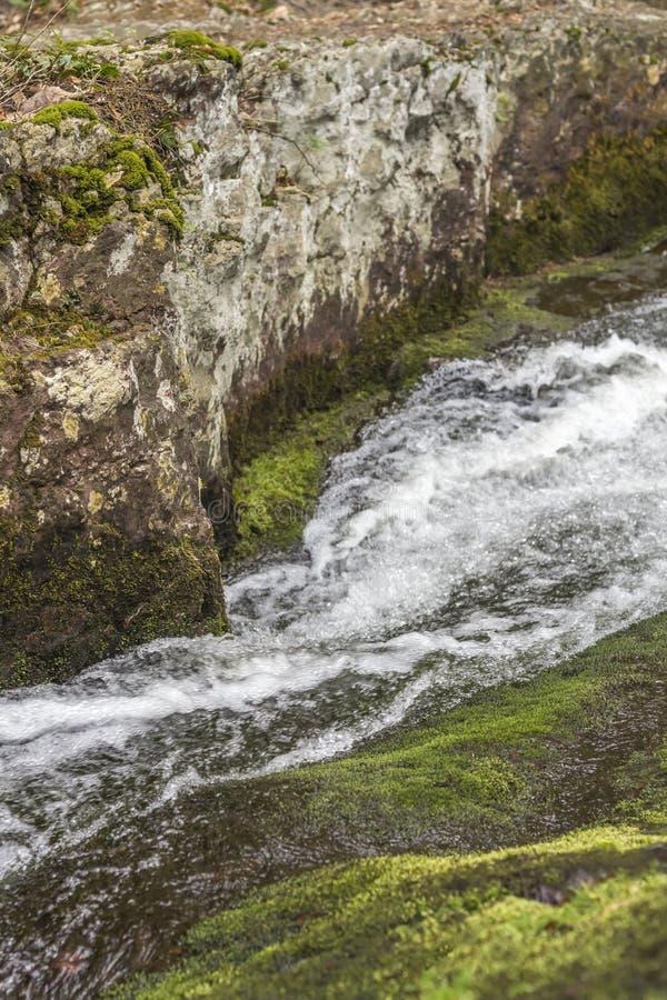 Download Waterval Bevroren Actie stock afbeelding. Afbeelding bestaande uit spring - 54092155