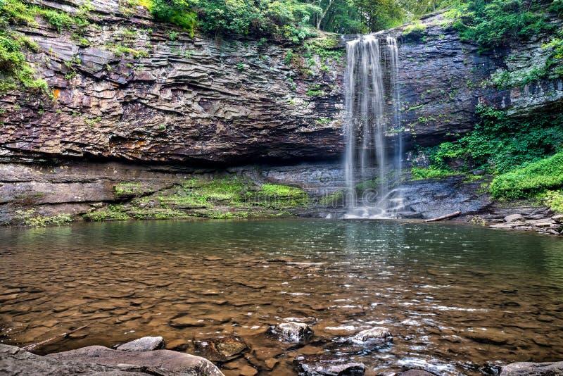 Waterval bij Cloudland-het Park van de Canionstaat royalty-vrije stock afbeelding