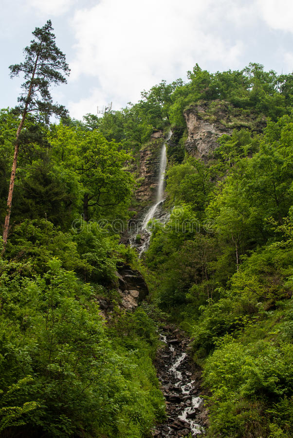 Waterval in Borjomi royalty-vrije stock foto