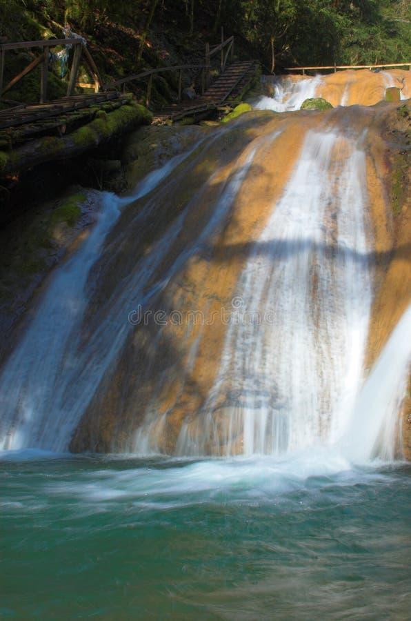 Waterval cacascade stock afbeeldingen