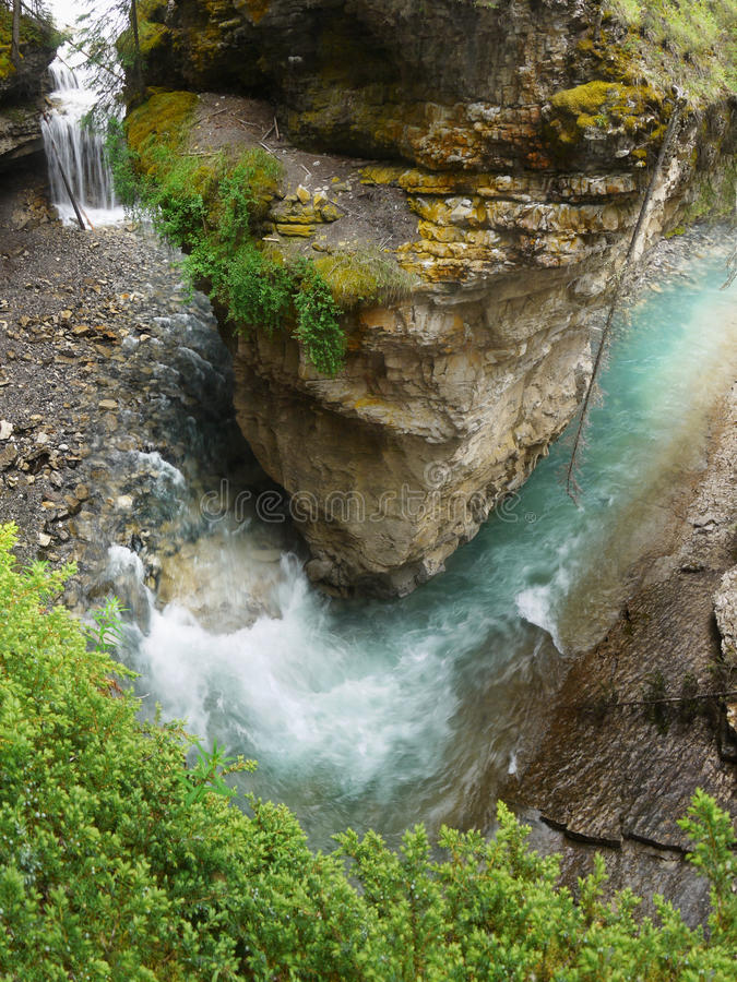 Waterval in Canada stock afbeeldingen