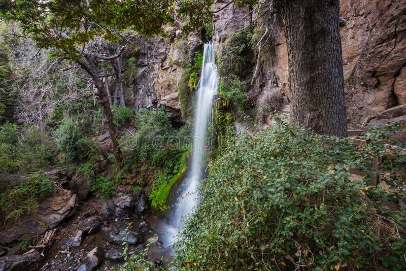 Waterval in Chili stock fotografie