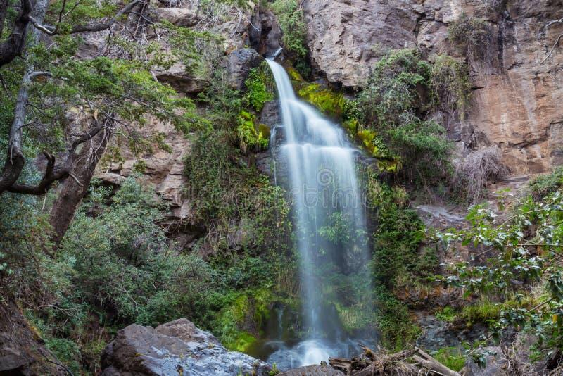 Waterval in Chili royalty-vrije stock foto's
