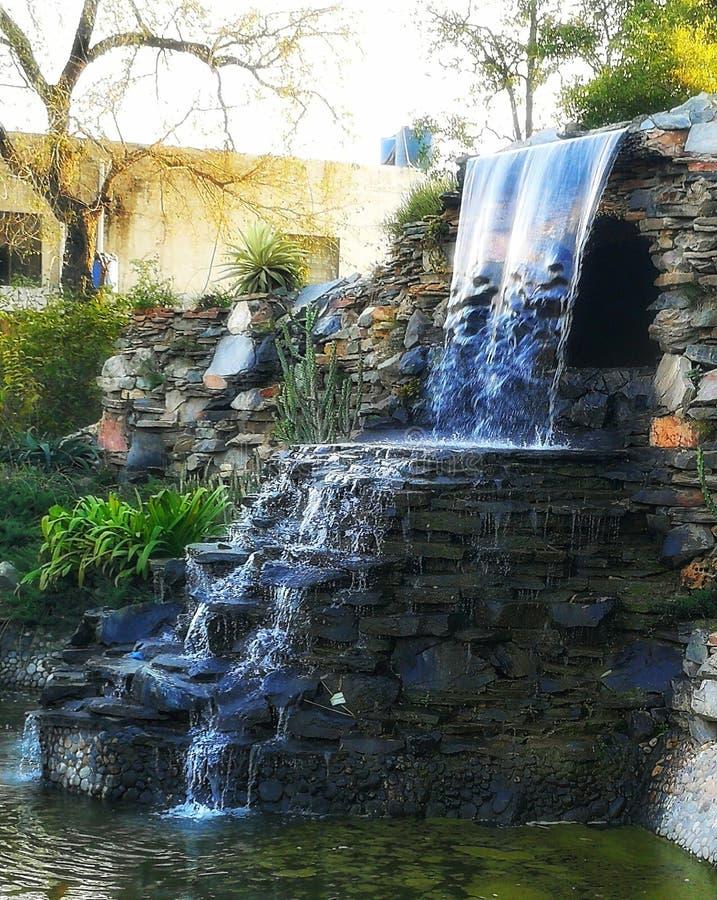Waterval royalty-vrije stock afbeelding