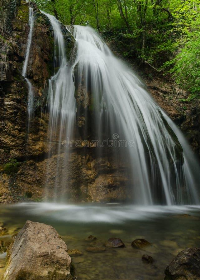 Waterval in de Krim royalty-vrije stock afbeeldingen
