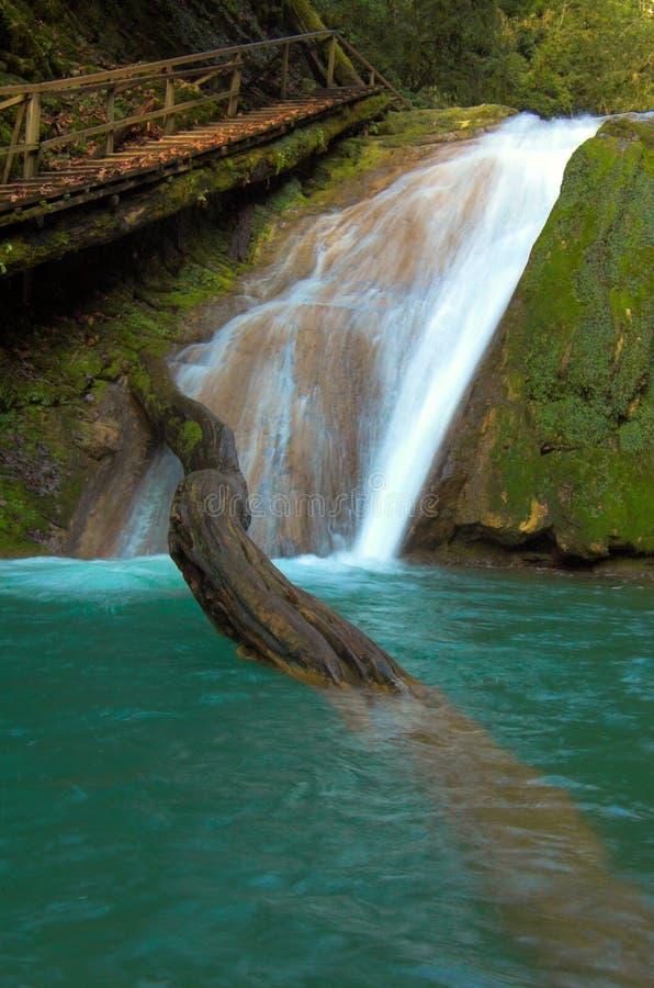Waterval en grote straal royalty-vrije stock fotografie