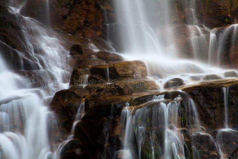Waterval in het Portugese nationale park van Geres royalty-vrije stock afbeelding