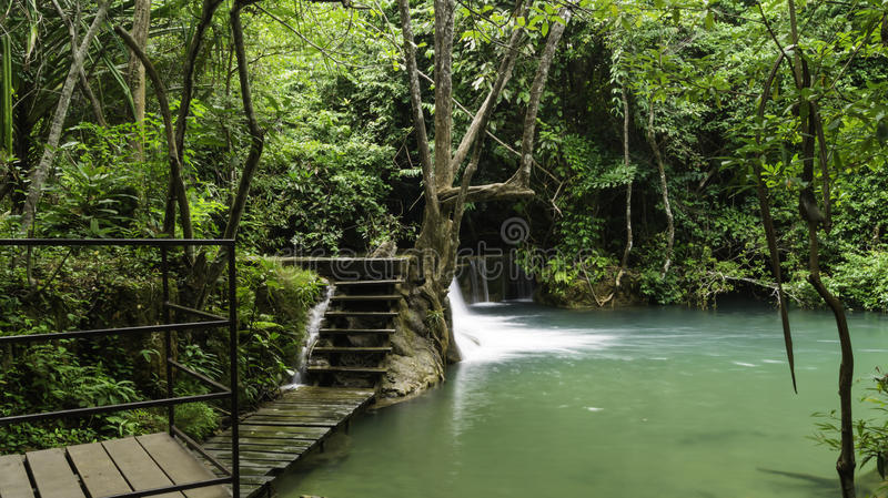 Waterval inThailand stock foto