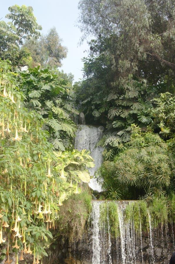 Waterval, Lima, Peru royalty-vrije stock afbeeldingen