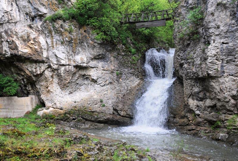 Waterval op de Rivier Andaka royalty-vrije stock fotografie