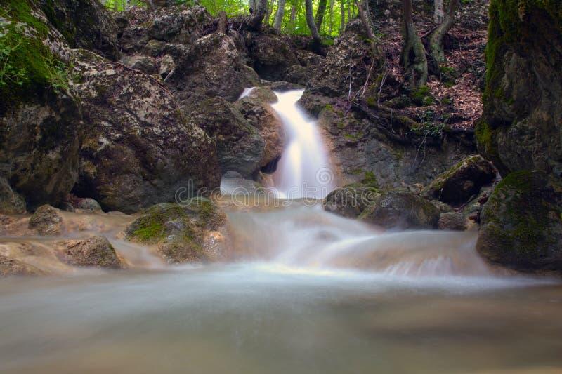 Waterval Su Ahande stock fotografie