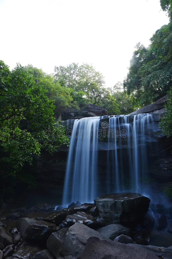 Waterval in Thailand royalty-vrije stock foto