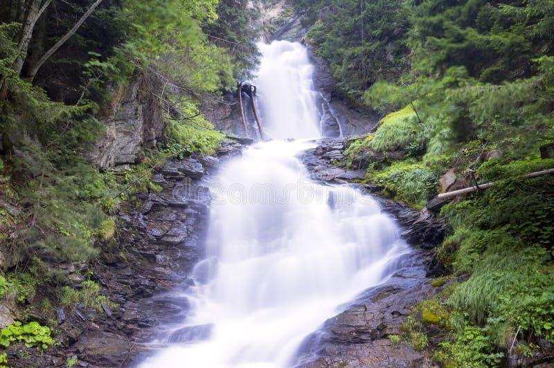 Waterval (vage motie) Het beeld van de kleur royalty-vrije stock afbeelding