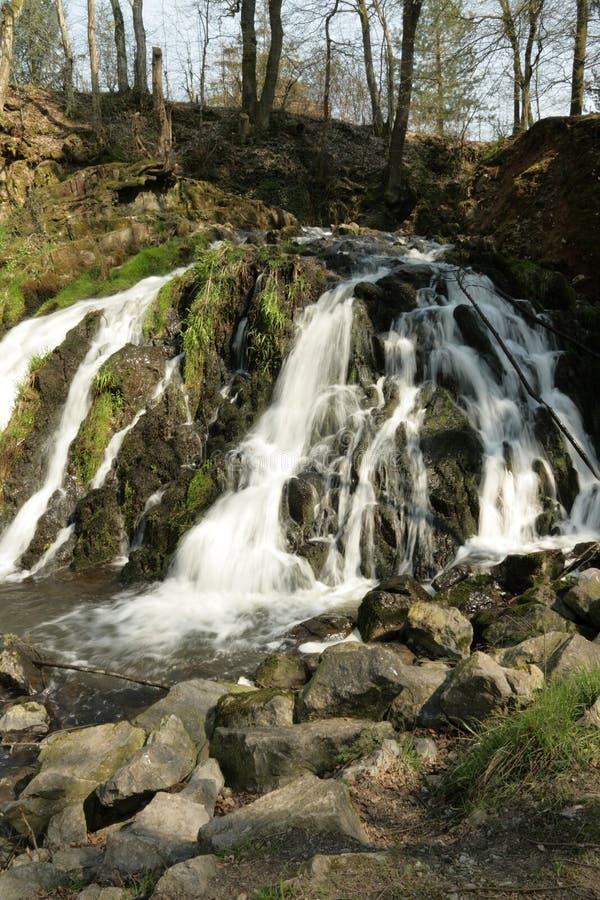 Waterval van Blangy in Picardie, Frankrijk stock fotografie