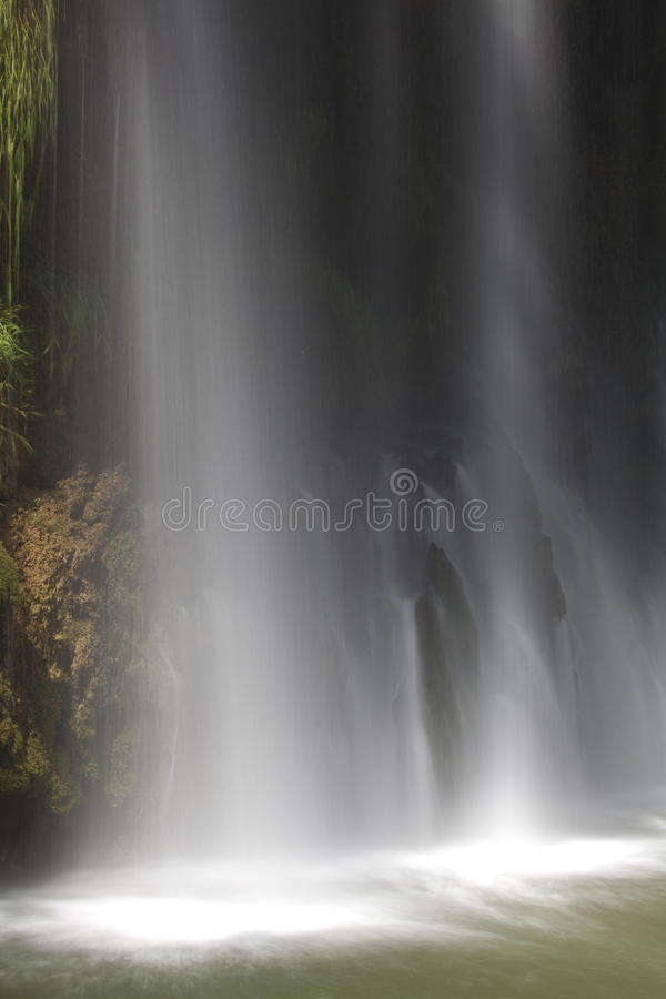 Waterval van Monasterio DE Piedra royalty-vrije stock foto