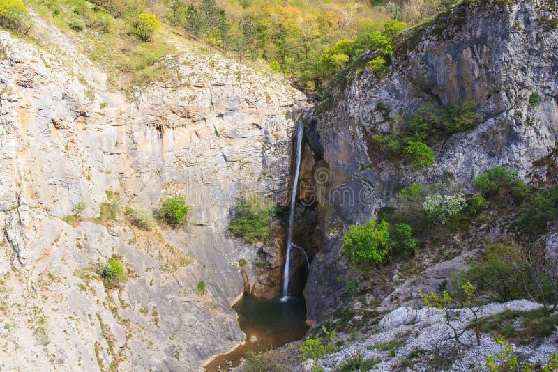 Waterval van Rosandra-Rivier stock afbeeldingen