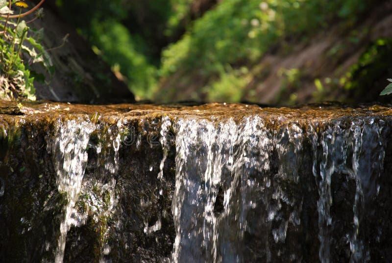 Waterval van stroom stock fotografie