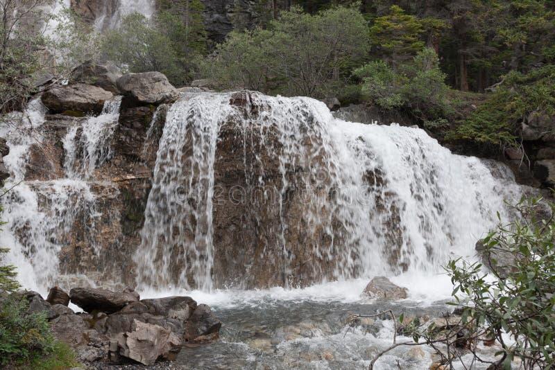Waterval - Voorraadbeeld royalty-vrije stock afbeelding