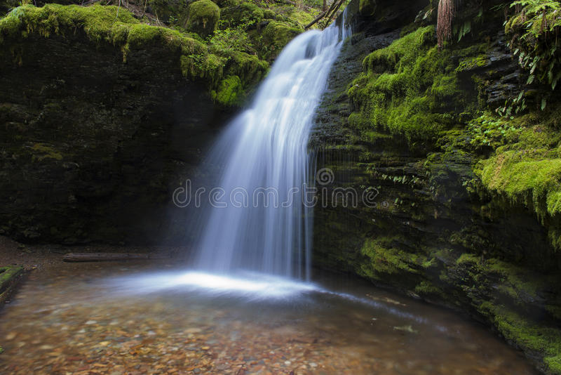 Watervalinham royalty-vrije stock fotografie