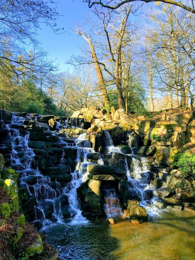 Watervallen bij de wateren van Virginia royalty-vrije stock foto