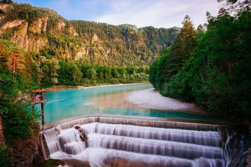 Watervallen, Duitsland royalty-vrije stock afbeelding