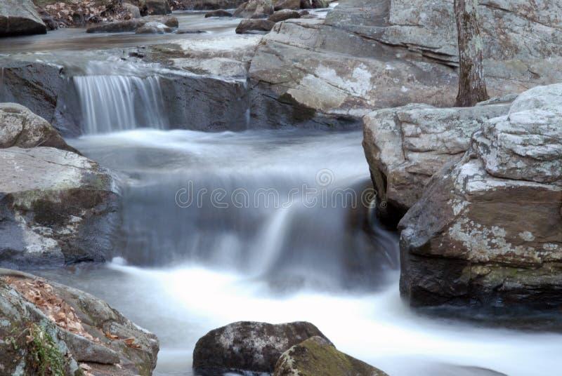 Watervallen in NH 4 stock foto's