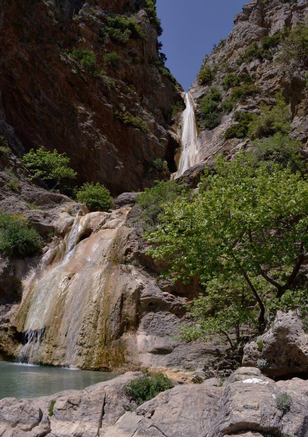 Watervallen van Lepida royalty-vrije stock fotografie