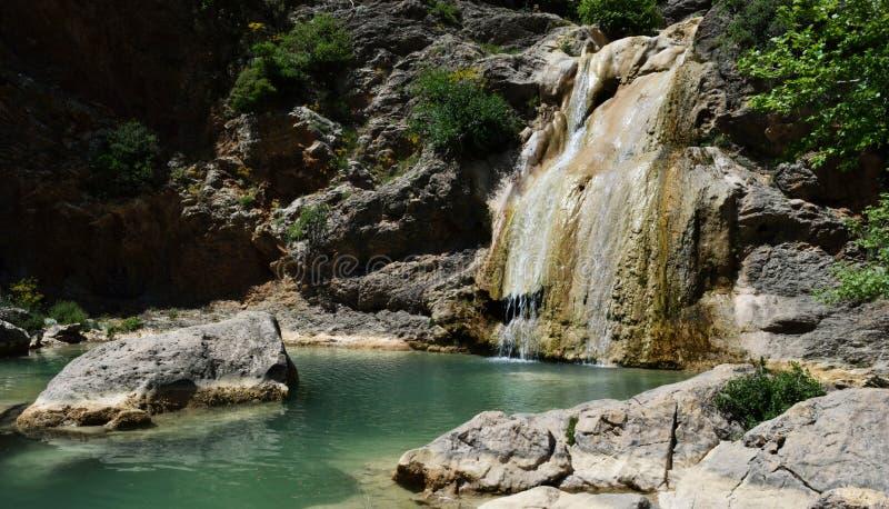 Watervallen van Lepida stock afbeelding