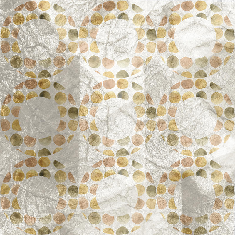 Waterverf abstract art. De abstracte achtergrond van de waterverf stock illustratie