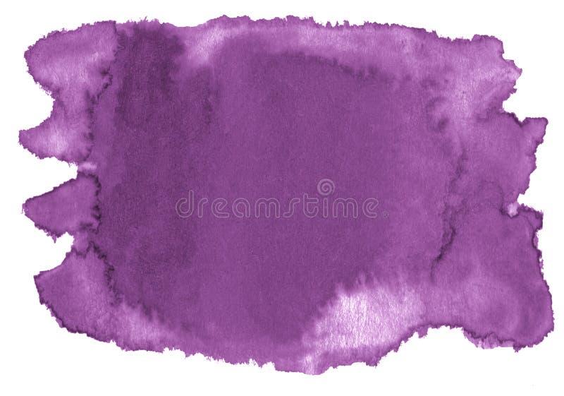 Waterverf achtergrond in kleurendahlia met scherpe grenzen en scheidingen De vlekken van de waterverfborstel Met exemplaarruimte vector illustratie