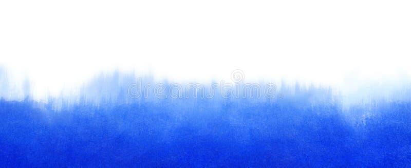 Waterverf blauwe vage textuur als achtergrond met ruimte voor de banner van het tekstweb royalty-vrije stock fotografie