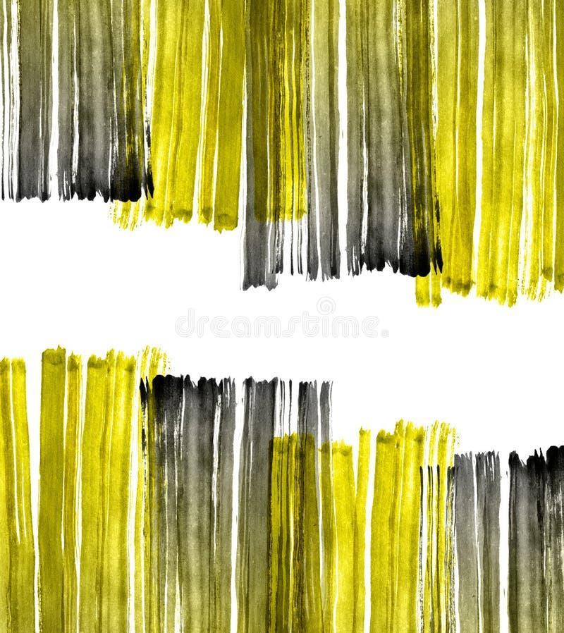 Waterverf grunge textuur stock illustratie
