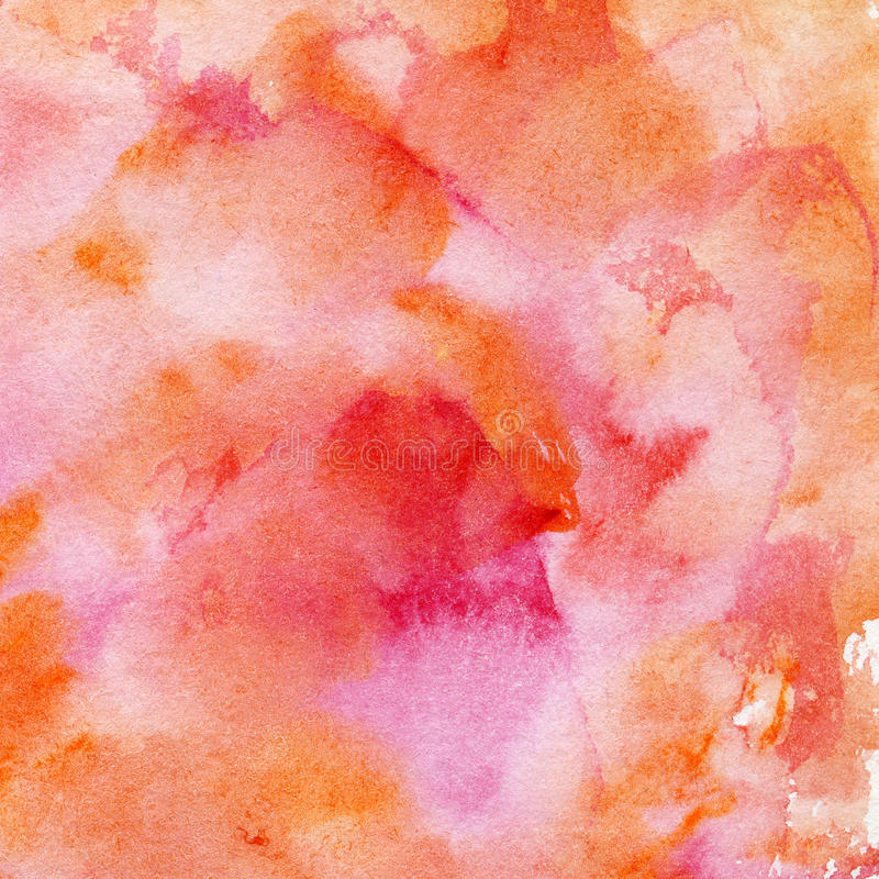 Waterverf het schilderen achtergrond. royalty-vrije stock fotografie