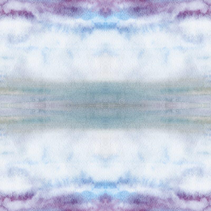Waterverfachtergrond - decoratieve samenstelling stock fotografie