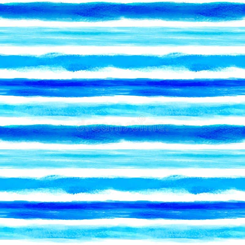 Waterverfachtergrond met sommige strepen vector illustratie