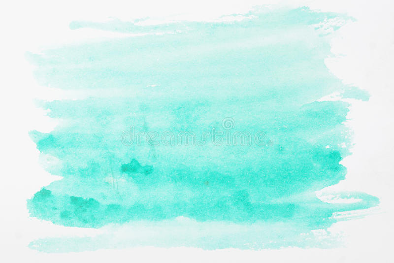 Waterverfdocument stock afbeelding