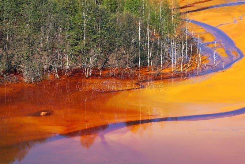 Watervervuiling royalty-vrije stock fotografie