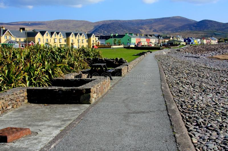 Waterville su Ring Of Kerry, Irlanda fotografie stock