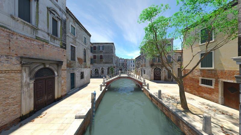 waterway στοκ εικόνα