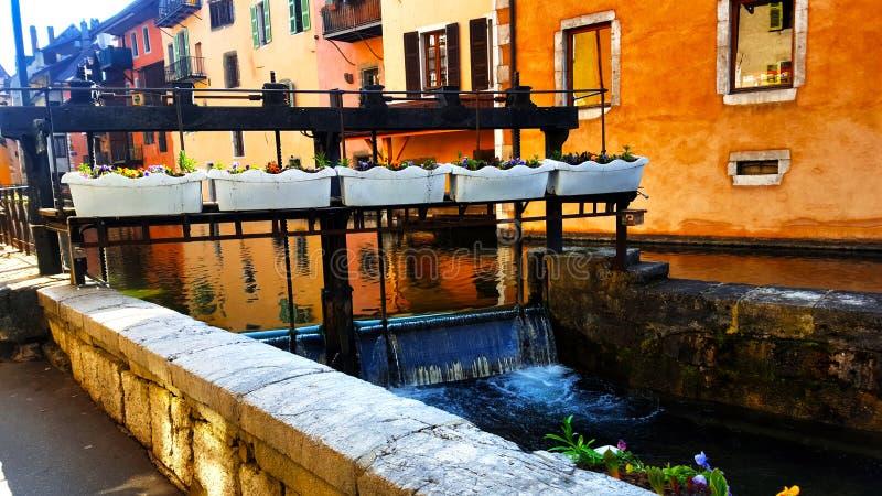 waterway arkivfoton