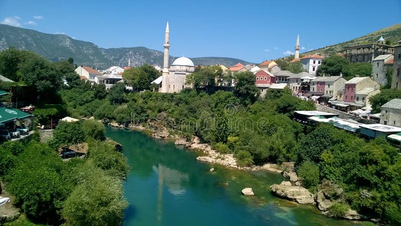 Waterway, City, Town, Mountain Village royalty free stock photography