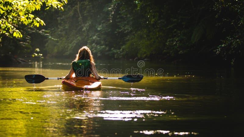 Waterway, Nature, River, Kayak royalty free stock image