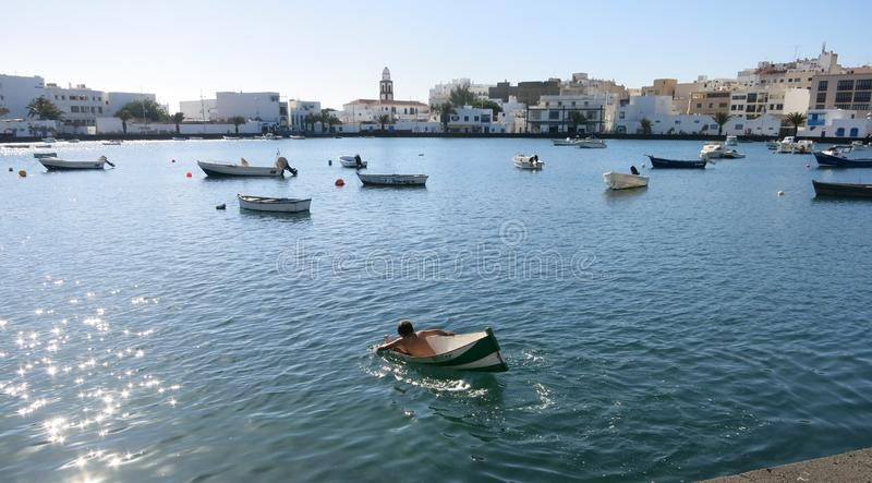 Waterway, Sea, Boat, Boating stock photo