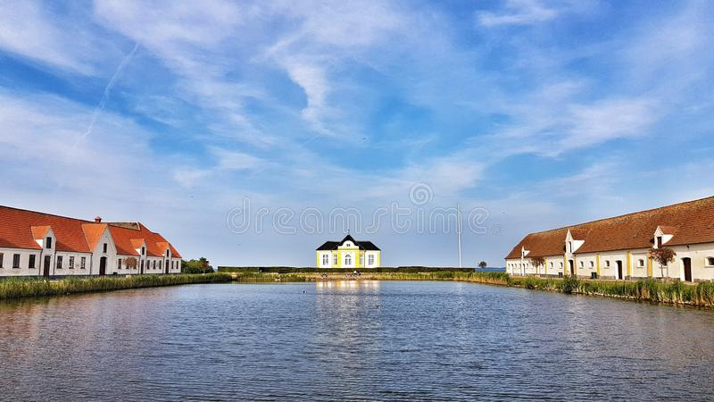 Waterway, Sky, Residential Area, Reflection Free Public Domain Cc0 Image