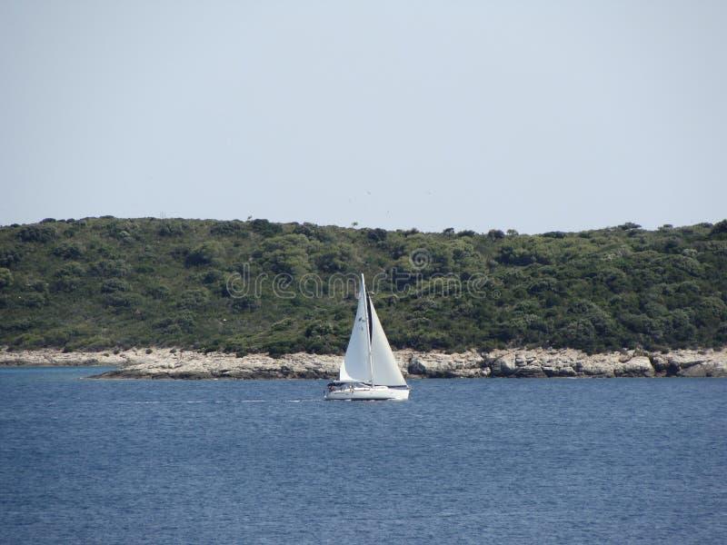 Waterway, Water, Sailboat, Sea royalty free stock image