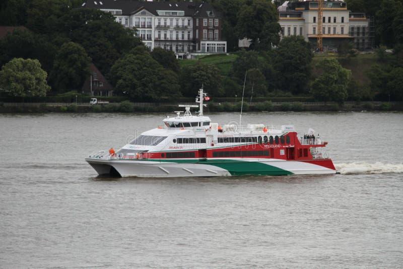 Waterway, Water Transportation, Boat, Motor Ship stock photo