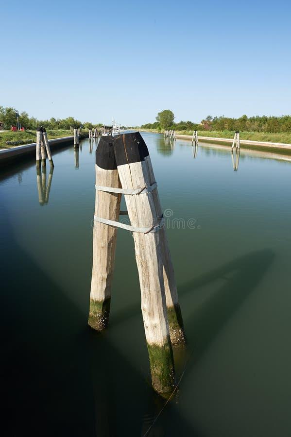 Waterweg royalty-vrije stock foto's